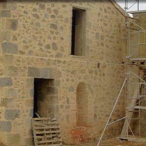 photo restauration de bâtiment