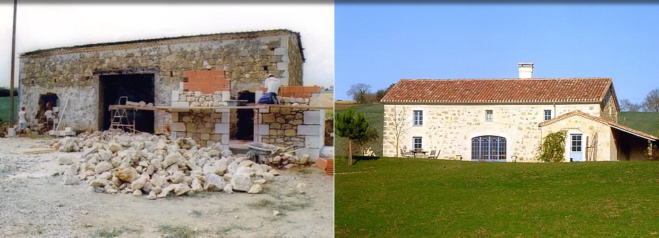 photo restauration de bâtiment